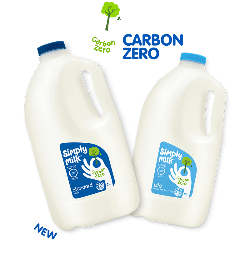 NZ's First Carbon Zero Milk